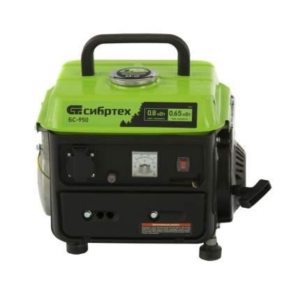 Генератор бензиновый Сибртех БС-950