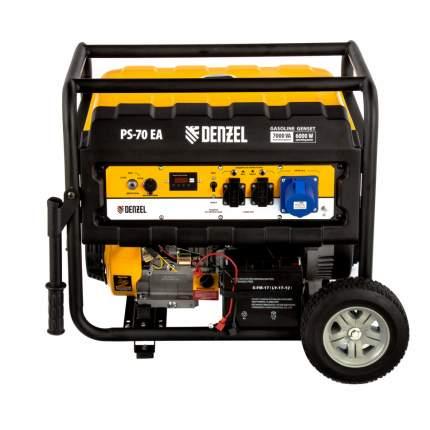 Генератор бензиновый Denzel PS 70 EA
