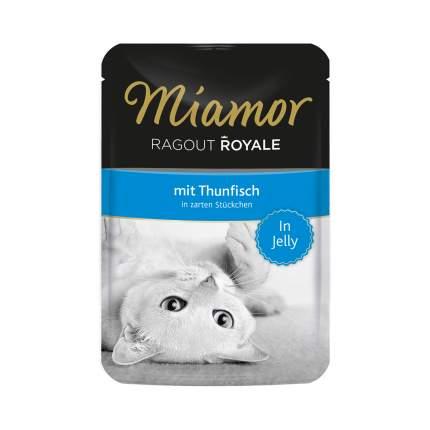 Влажный корм для кошек Miamor Ragout Royal, с тунцом в желе, 100г
