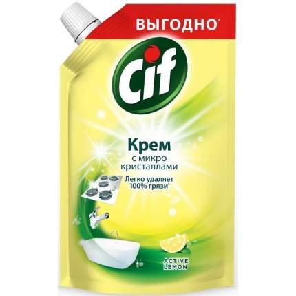 Крем чистящий Cif active lemon 500 мл