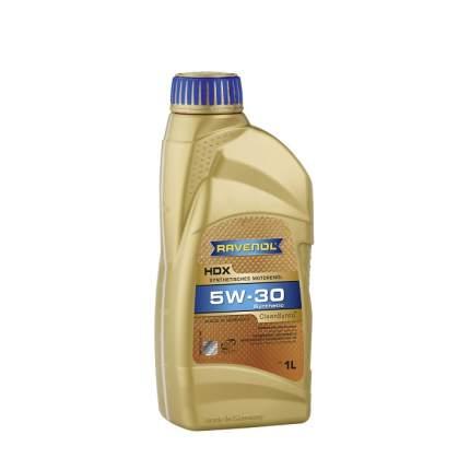 Моторное масло Ravenol HDX 5W-30 1л