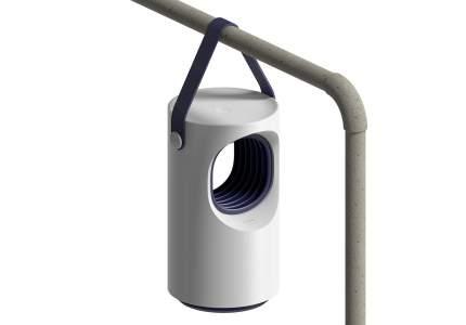 Ловушка для насекомых Baseus Purple Vortex-USB Mosquito lamp White