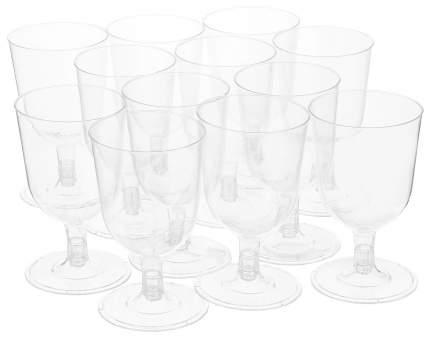 Набор Duni одноразовых бокалов для вина цвет прозрачный 12 шт 130 мл