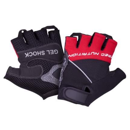 Trec Wear Перчатки Gel Shock черно-красные, 2 шт, размер: L