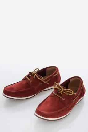 Топсайдеры мужские Clarks 26150233 красные 6.5 UK