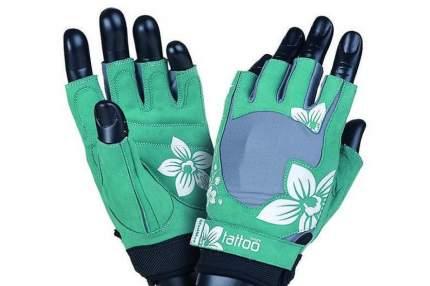 Mad Max Перчатки женские Jungle MFG710 - серо-зеленые, 2 шт, размер: S