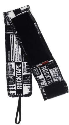 Спортивный бинт Rock Tape RockWrist черный/белый 56 см