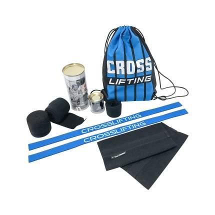 Спортивный бинт Winner черный/синий 350 см