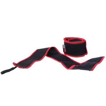 Спортивный бинт Rock Tape RockWrist черный/красный 56 см