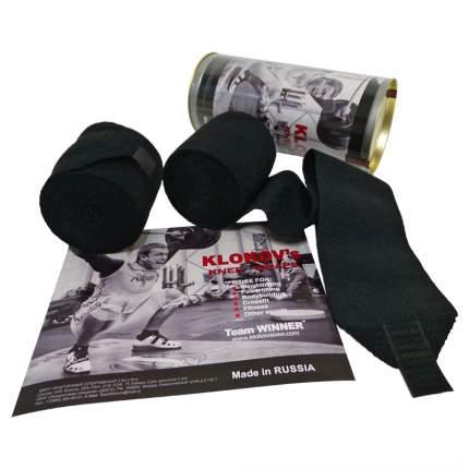 Спортивный бинт Winner черный 350 см
