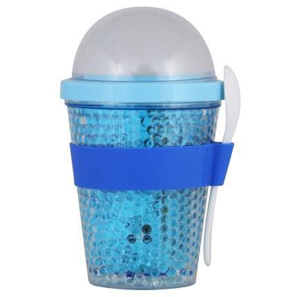 Asobu Контейнер Chill yo 2 GO, 1 шт, цвет: голубой