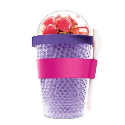 Asobu Контейнер Chill yo 2 GO, 1 шт, цвет: фиолетовый