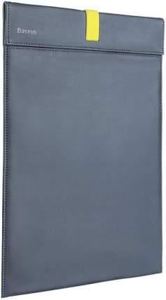Сумка для ноутбука Baseus LBQY-AGY grey&yellow