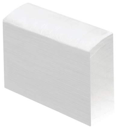 Полотенце бумажное Лайма люкс двухслойное белое multifold 23*21 см 190 шт