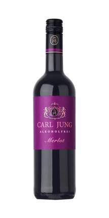 Безалкогольное вино Carl Jung Merlot (Красное, полусухое)
