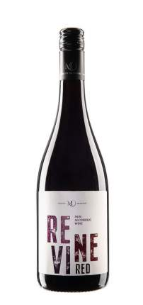 Безалкогольное слабогазированное вино Vinselekt Michlovsky Revine Red (Красное, полусухое)