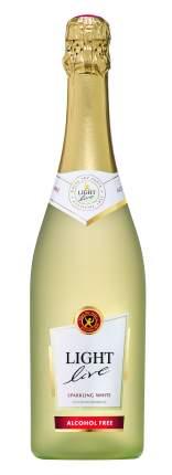 Безалкогольное игристое вино Light Live Sparkling WhiteБелое, полусладкое