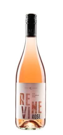 Безалкогольное слабогазированное вино Vinselekt Michlovsky Revine Rose Розовое, полусухое