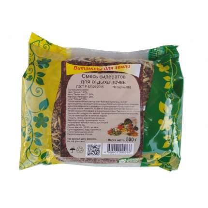 Семена Зеленый уголок Смесь сидератов Для отдыха почвы, 500 г