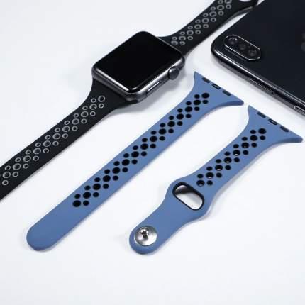 Сменный ремешок Nuobi Sport Slim для Apple Watch 38/40mm Grey/Black