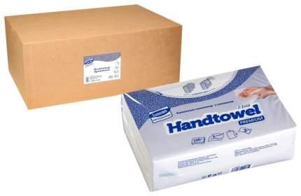 """Полотенца бумажные """"Лайма (Система H3)"""", 20 пачек по 250 листов, белые, 21х21,6 см"""