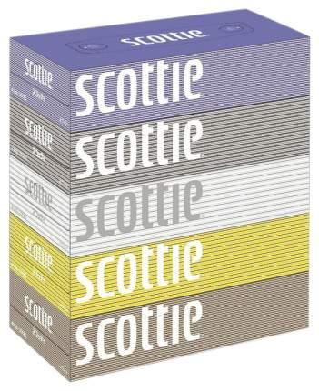 Салфетки crecia scottie двухслойные цветные пачки 200шт*5кор/12