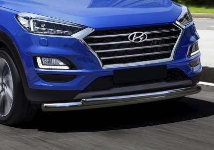 Защита переднего бампера d57+d42 Rival Hyundai Tucson III рестайлинг 2018-н.в., R.2311.001