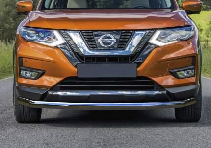 Защита переднего бампера d57 Rival для Nissan X-Trail T32 рестайлинг 2018-н.в., R.4125.002