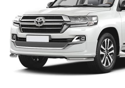Защита переднего бампера d57 уголки Rival для Toyota Land Cruiser 200 рестайлинг (Executiv