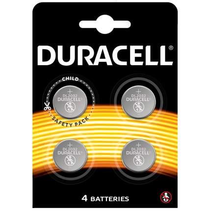 Батарейка Duracell CR2032 4шт.