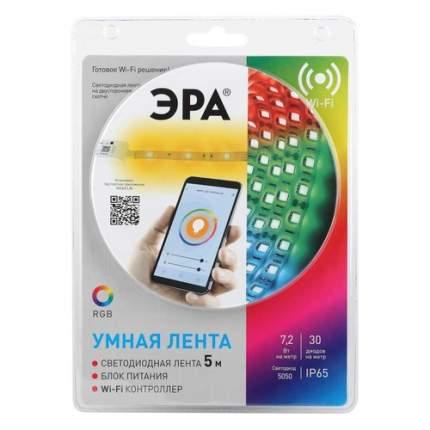 Лента светодиодная Эра 5050-30-RGB-IP65-Wifi-5m 5м (Б0043446)