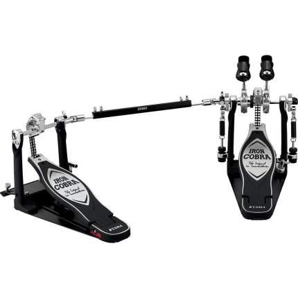 Педаль для барабана двойная Tama Hp900pwn Iron Cobra Drum Pedal W/case в кейсе