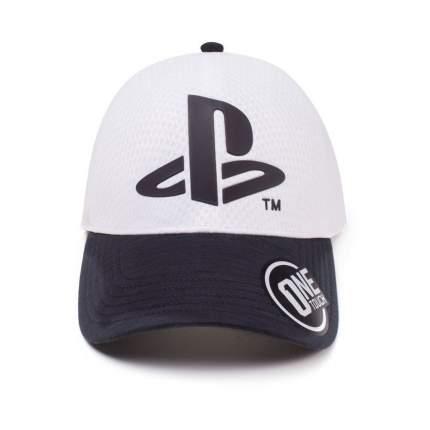 Бейсболка Difuzed Playstation: Logo Seamless Curved Bill (TC387805SNY)