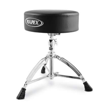 Стул для барабанщика Mapex T570a с круглым виниловым сиденьем
