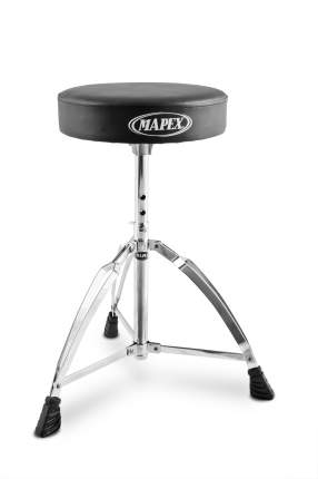 Стул для барабанщика Mapex T270a с круглым виниловым сиденьем