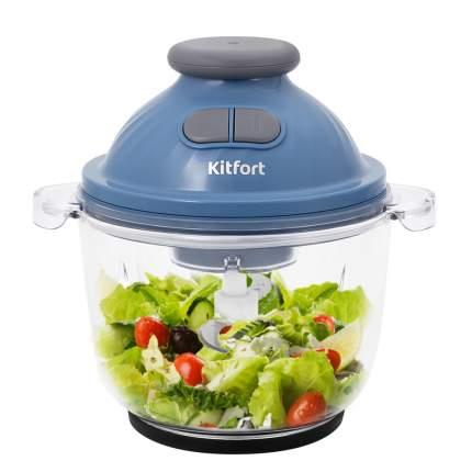 Измельчитель Kitfort КТ-3013 Blue