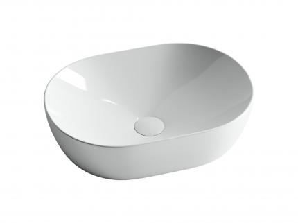 Раковина накладная Ceramica Nova Element овальная 48 см CN5010