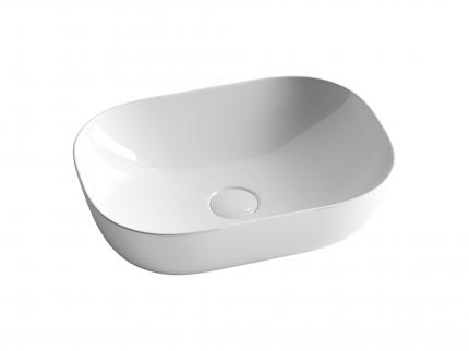 Раковина накладная Ceramica Nova Element 45 прямоугольная CN6009