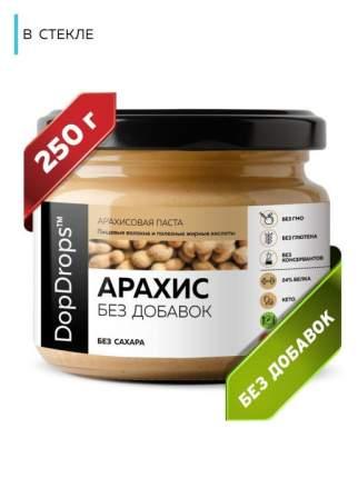 Паста Арахисовая DopDrops без добавок, 250 г