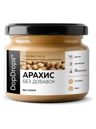 Арахисовая паста DopDrops без добавок 250 г
