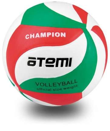 Мяч волейбольный Atemi CHAMPION зел/бел/красный