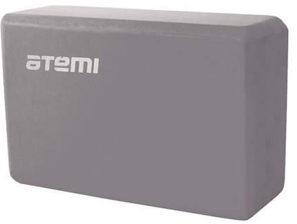 Блок для йоги Atemi, AYB01GY, 225х145х75, серый
