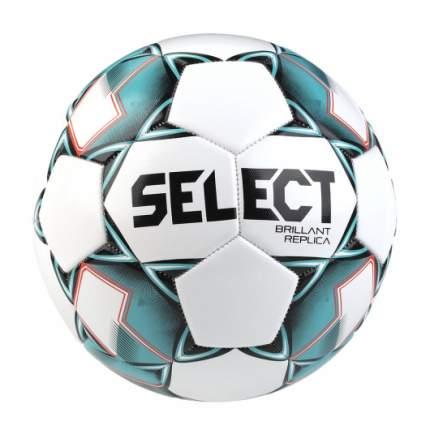 Мяч футбольный SELECT BRILLANT Replica, бел/гол/красный, размер 5