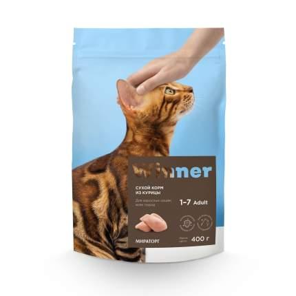 Сухой корм для кошек Winner, курица, 2 кг