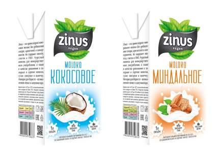 Напиток Миндальный Zinus 1л.