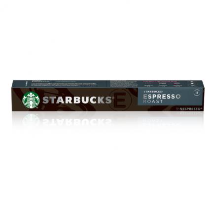 Кофе в капсулах Starbucks Espresso Roast стандарта Nespresso 10 шт