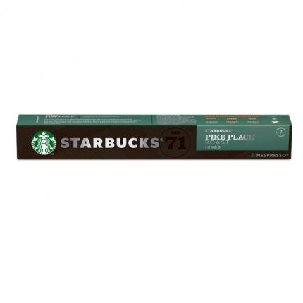Кофе в капсулах Starbucks Pike Place Roast стандарта Nespresso 10 шт
