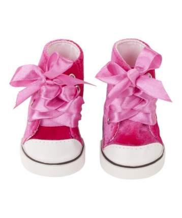 Обувь для кукол Gotz кеды вельветовые розовые, 42-50 см