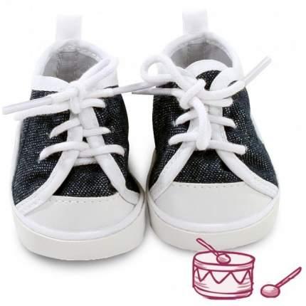 Обувь для кукол Gotz кеды черно-белые, 42-50 см
