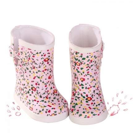 Обувь для кукол Gotz резиновые сапоги в цветочек, 42-50 см